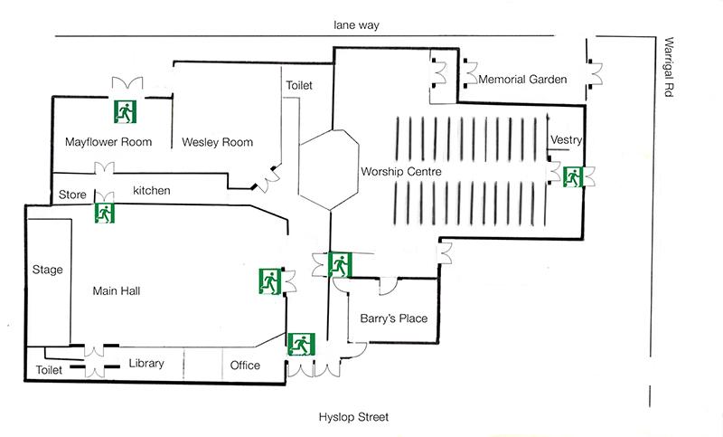 floor plan BUC